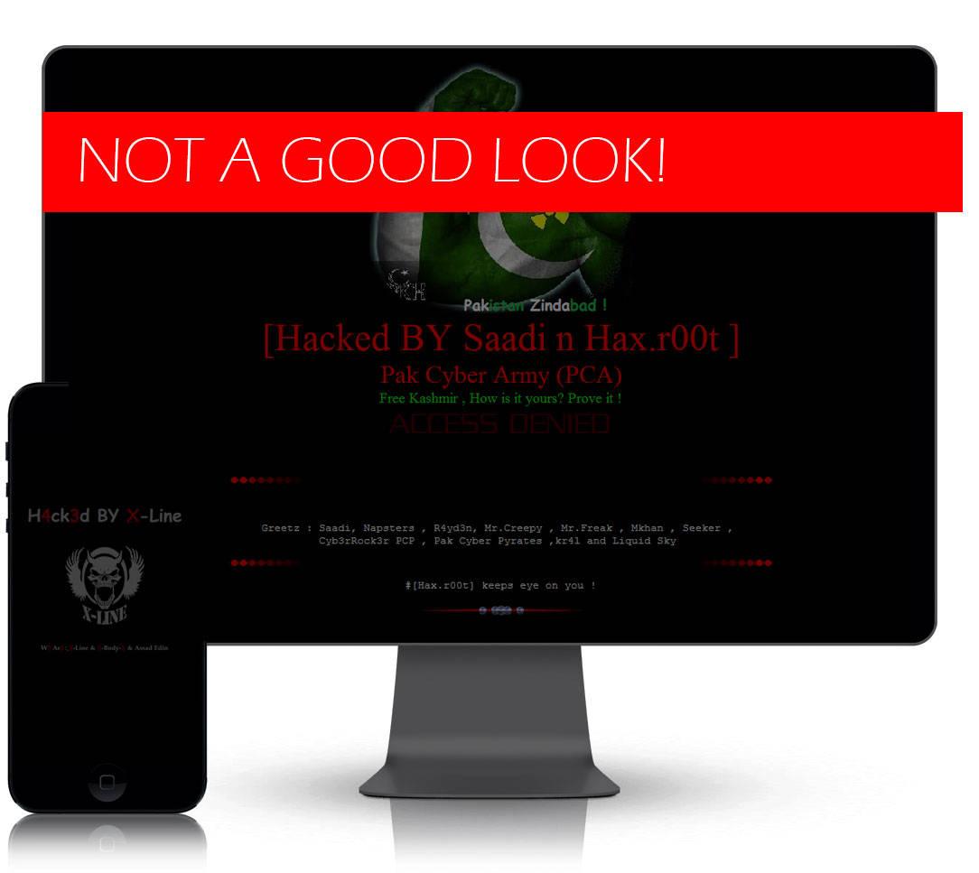 HACKED-WEBSITE - Big Gun Digital