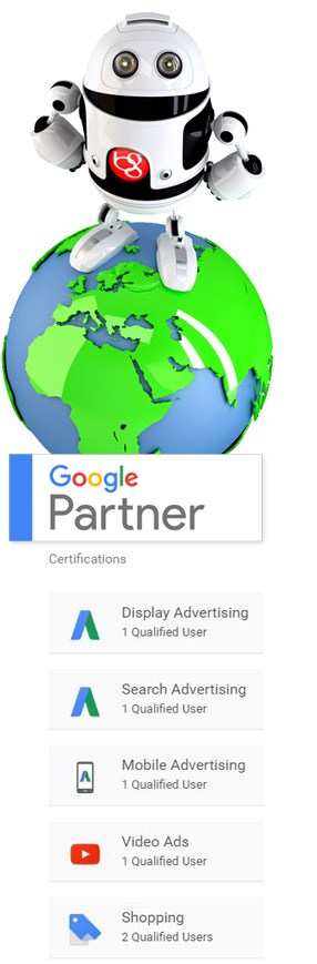 Adwords Qualified - Google Partner - PPC Management