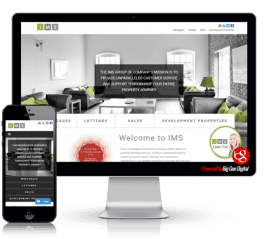 we built ims internet website
